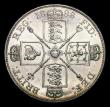 London Coins : A154 : Lot 1883 : Double Florin 1888 ESC 397 UNC and lustrous with some light contact marks