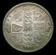 London Coins : A154 : Lot 1953 : Florin 1849 ESC 802 NEF toned