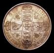 London Coins : A154 : Lot 1969 : Florin 1873 ESC 841 Die Number 135 A/UNC with a superb deep golden tone