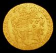 London Coins : A154 : Lot 2061 : Half Guinea 1734 S.3681A VG/approaching Fine