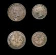 London Coins : A154 : Lot 2334 : Maundy Set 1841 ESC 2451 GEF to UNC with an even matching tone, a very rare set, indeed our extensiv...