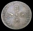London Coins : A154 : Lot 2500 : Shilling 1696 First Bust as ESC 1078 with a malformed A in GRA and appearing to read GRX, Fine with ...
