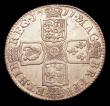 London Coins : A154 : Lot 2507 : Shilling 1711 Third Bust ESC 1157 rated R4 by ESC where they state 'probably a mule', very...