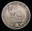 London Coins : A154 : Lot 2538 : Shilling 1825 Roman 1 in date ESC 1254A VG a scarce variety
