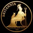 London Coins : A154 : Lot 396 : Britannia Gold £500 2013 5 ounces of fine gold Proof FDC in the impressive Royal Mint box with...