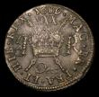 London Coins : A154 : Lot 833 : Ireland Halfcrown Gunmoney 1689 Dec: S.6579H EF the reverse with pitted surfaces