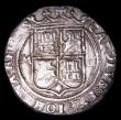 London Coins : A154 : Lot 869 : Mexico 2 Reales Charles and Johanna (1542-1571) Mexico Mint, Assay mark G, weight 6.84 grammes, GVF,...