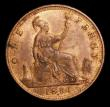London Coins : A155 : Lot 1215 : Penny 1881H Freeman 108 dies 11+M GEF with traces of lustre