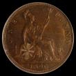 London Coins : A155 : Lot 1223 : Penny 1890 Low 90 in date, Gouby BP1890Aa VF, slabbed and graded LCGS 50, this rare type usually onl...
