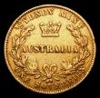 London Coins : A155 : Lot 2181 : Australia Sovereign 1864 Sydney Branch Mint Marsh 369 Fine