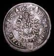 London Coins : A155 : Lot 2236 : Hungary 15 Krajczar 1678 KB, 8 in date overstruck , the underlying figure unclear, KM#175 VF/NVF wit...