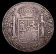 London Coins : A155 : Lot 2279 : Mexico 8 Reales 1788 Mo FM KM#107 GF with an attractive even tone