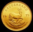 London Coins : A155 : Lot 2314 : South Africa Krugerrand 1975 Unc