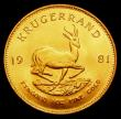 London Coins : A155 : Lot 2324 : South Africa Krugerrand 1981 EF