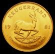 London Coins : A155 : Lot 2325 : South Africa Krugerrand 1981 GEF