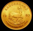 London Coins : A155 : Lot 2328 : South Africa Krugerrand 1983 EF