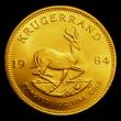 London Coins : A155 : Lot 2330 : South Africa Krugerrand 1984 Unc