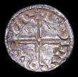 London Coins : A155 : Lot 521 : Penny Edward the Confessor Small flan type S.1175 London Mint moneyer Aldgar, Fine with some residue...