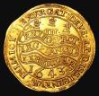 London Coins : A155 : Lot 543 : Triple Unite 1643 Charles I (1625-1649) Oxford mint.  S2726. Rarer type with half-length crowne...