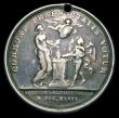 London Coins : A156 : Lot 1001 : France Agricultural/Wedding medal 1802, silver, 37mm, obv. Au CultivateurLaborieux, in exergue Flore...