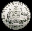 London Coins : A156 : Lot 1052 : Australia Florin 1925 KM#27 EF with some small rim nicks