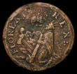 London Coins : A156 : Lot 1440 : USA/Ireland Farthing undated St. Patricks (1641-1642) Breen 208, S.6569, 4.98 grammes, About Fine an...