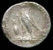 London Coins : A156 : Lot 1650 : Egypt.  Ptolemy II.  Ar tetradrachm.  C, 285-246 BC.  Alexandria mint.  Rev; Eagle standing left, mo...