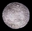 London Coins : A156 : Lot 1699 : Groat Charles I Aberystwyth Mint S.2891 mintmark Book, VF nicely toned with a small edge crack by AV...