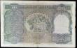 London Coins : A156 : Lot 170 : India 100 rupees KGVI issued 1937 series , Calcutta branch, signed Taylor, A/52 037349 Pick20d, two ...