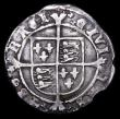 London Coins : A156 : Lot 1721 : Groat Henry VIII York Mint S.2374 no mintmark, Fine with some shortage of flan at 10 o'clock