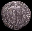 London Coins : A156 : Lot 1728 : Halfcrown Charles I Group I, first horseman, type 1a2 No Rose on housing, no ground-line S.2764 mint...
