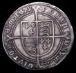 London Coins : A156 : Lot 1731 : Halfcrown Edward VI 1551 Fine Silver issue, walking horse with plume S.2479 mintmark y, Good Fine or...