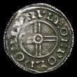 London Coins : A156 : Lot 1753 : Penny Cnut Short Cross type S.1159 London Mint, moneyer Leofwold Fine/Good Fine