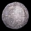London Coins : A156 : Lot 1781 : Shilling Charles I CAROLVVS error legend, also with no stops on reverse Group E, Fifth Aberystwyth B...