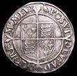 London Coins : A156 : Lot 1795 : Shilling Elizabeth I Second Issue S.2555 mintmark Martlet VF and pleasing with a thin scratch on the...