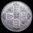 London Coins : A156 : Lot 1899 : Crown 1847 Gothic UNDECIMO edge ESC 288 GVF with some contact marks and small edge nicks