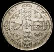 London Coins : A156 : Lot 2035 : Florin 1878 ESC 849 Die Number 28, the die number struck over a higher 28, UNC or very near so with ...