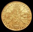 London Coins : A156 : Lot 2103 : Guinea 1727 George I S.3633 Good Fine/Fine, the scarcest of the 5 dates in this short series, our au...