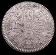 London Coins : A156 : Lot 2161 : Halfcrown 1679 ESC 481 EF with grey tone, slabbed and graded LCGS 60, the finest known of 3 examples...