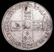 London Coins : A156 : Lot 2166 : Halfcrown 1685 PRIMO ESC 493 probably about EF for wear buy has been cleaned and now with somewhat m...