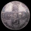 London Coins : A156 : Lot 2217 : Halfcrown 1751 ESC 610 A/UNC and nicely toned, slabbed and graded LCGS 75, Ex-London Coins auction A...