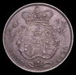 London Coins : A156 : Lot 2244 : Halfcrown 1820 George IV ESC 628 EF with grey tone, the obverse with a light deposit on the King...
