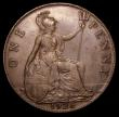 London Coins : A156 : Lot 2547 : Penny 1926 Modified Effigy Freeman 195 dies 4+B GVF, Rare, purchased by the vendor in April 1985