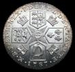 London Coins : A156 : Lot 2635 : Shilling 1787 Hearts ESC 1225 UNC and lustrous, slabbed and graded LCGS 80, the joint finest known o...