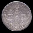London Coins : A156 : Lot 2717 : Sixpence 1676 6 over 5 ESC 1515A A/UNC and nicely toned, slabbed and graded LCGS 75, formerly in a P...