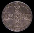London Coins : A156 : Lot 2752 : Sixpence 1700 ESC 1579 GEF and nicely toned, slabbed and graded LCGS 70