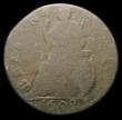 London Coins : A156 : Lot 3221 : Farthing 1698 Date in Exergue, Peck 663 only Poor but very rare, Ex-C.Cooke List 29 November 1996