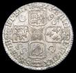 London Coins : A156 : Lot 3415 : Shilling 1723 SSC First Bust, C over SS between second and third quarter GEF/EF lightly toned with l...