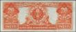London Coins : A156 : Lot 416 : USA $20 Gold Certificate dated 1922 series K54616082, Speelman & White signatures, Pick275 (Frie...