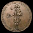 London Coins : A156 : Lot 671 : 18th Century Halfpenny Surrey - Lambeth G.Cook undated Man standing/ Legend in 7 lines, Plain edge, ...